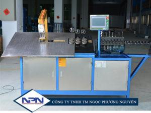 Máy uốn tạo hình dây thép 2D CNC GT-WB-100-4A (4~10mm)