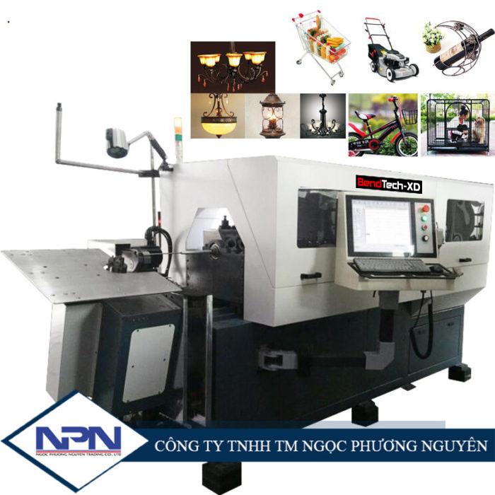 Máy uốn tạo hình dây 3D BendTech-XD GT-WB-100-9A (4-10mm)