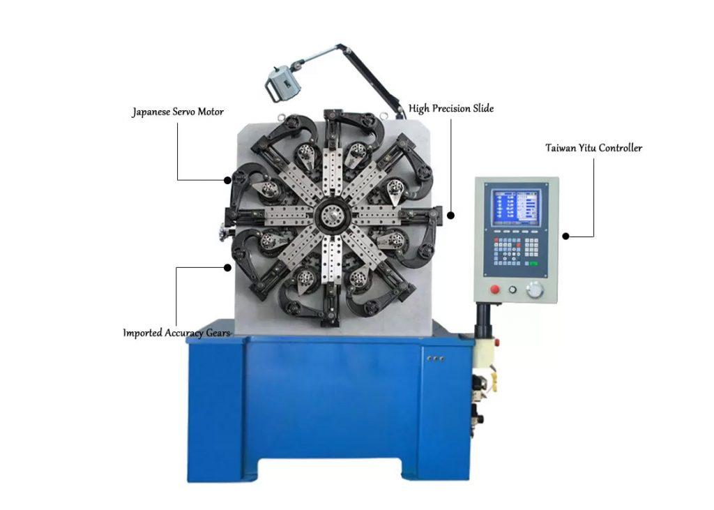 Máy uốn lò xo 3(4) trục BendTech-XD CNC40 1.5mm tới 4mm