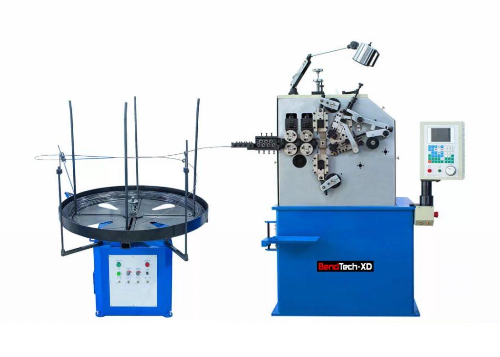 Máy uốn lò xo 2 trục BendTech-XD 230 1mm tới 3mm