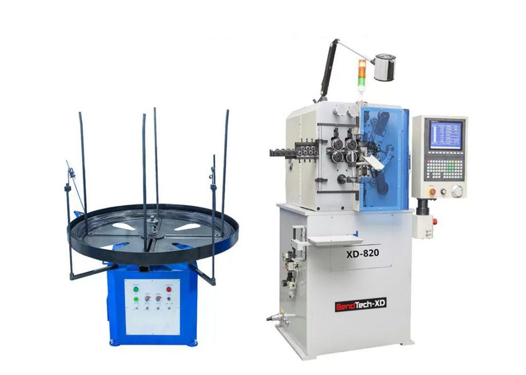 Máy uốn lò xo 8 trục BendTech-XD 820 0.5 tới 2mm