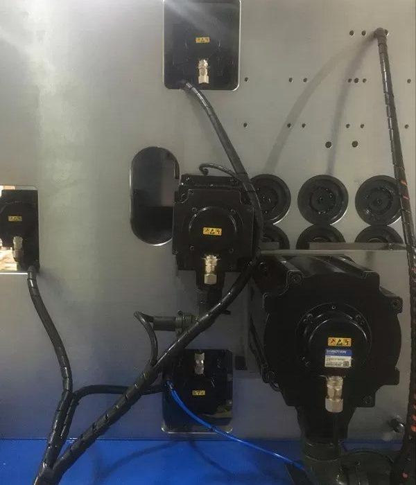 Máy uốn lò xo 5 trục BendTech-XD 540 2mm tới 4mm