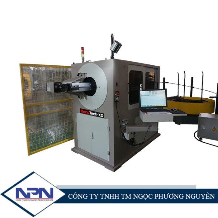 Máy uốn dây 3D BendTech-XD CNC trục xoay