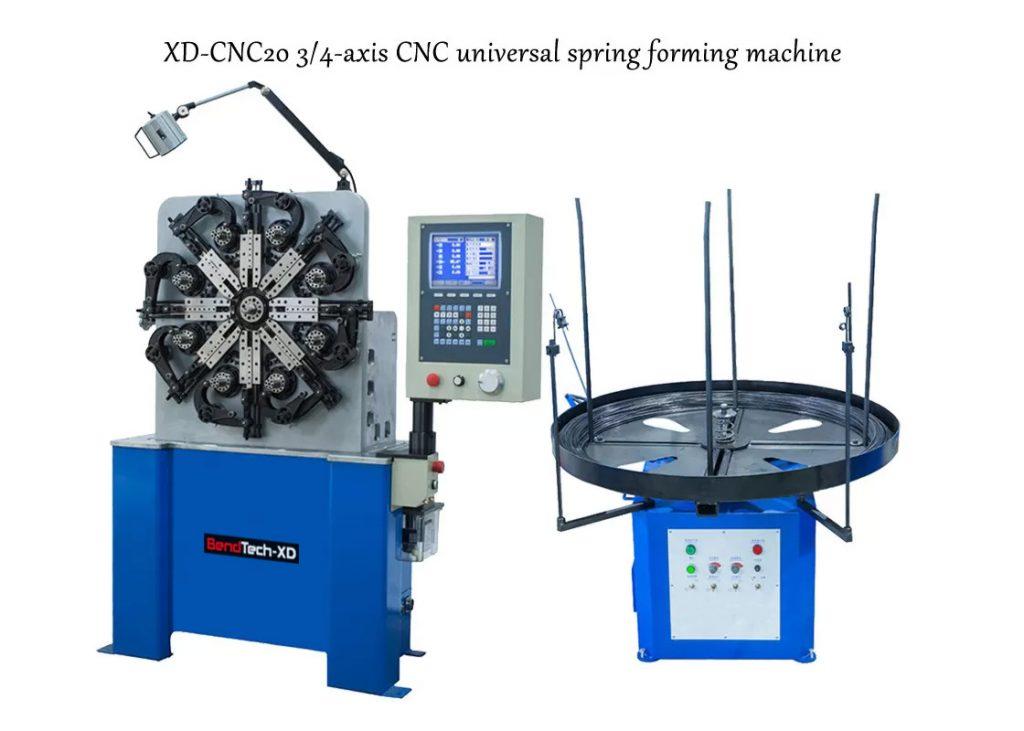 Máy uốn lò xo BendTech-XD CNC20 0.2mm tới 2.3mm
