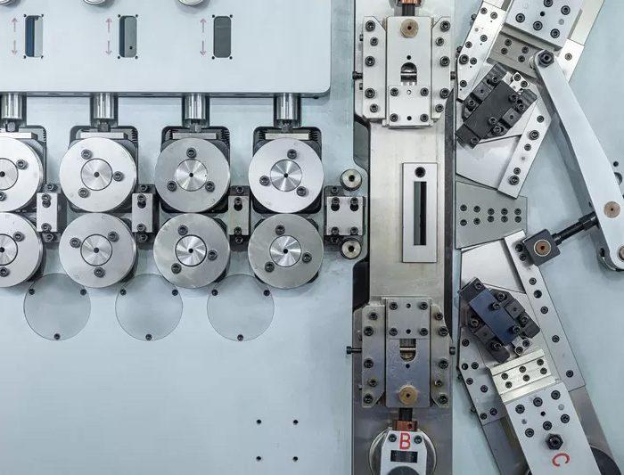 Máy uốn lò xo 6 trục BendTech-XD 680 3mm tới 8mm
