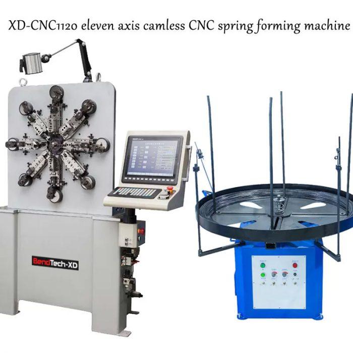 Máy uốn lò xo 11 trục BendTech-XD 1120 0.2mm tới 2.3mm
