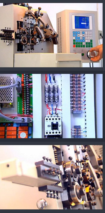 Máy uốn lò xo 2 trục BendTech-XD 250 2mm tới 5mm