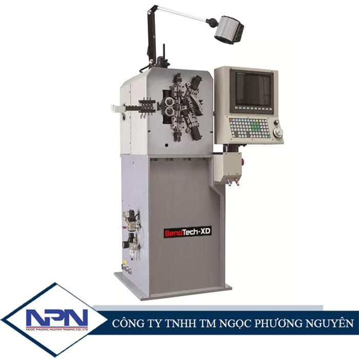 Máy uốn lò xo 8 trục BendTech-XD 808 0.1 tới 0.8mm
