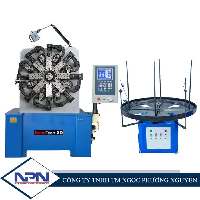 Máy uốn lò xo 3/4 trục BendTech-XD CNC40 1.5mm tới 4mm